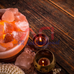 Himalayan salt fire bowl